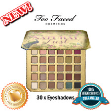 TOO FACED Natural Lust Palette, 100% Authentic, Free Shipping (30 x Eyeshadows)