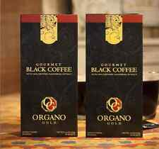 2 Boxes Organo Gold Black Coffee Cafe Negro of 30 each box fast shipping