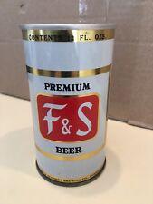 New listing F&S Zip Top Beer Can, Fuhrmann & Schmidt Co. Shamokin, Pa (Super Scarce)