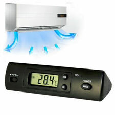High Quality Digital Thermometer Auto LCD Display In Out Clock for Car Aquarium
