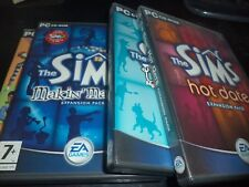 The Sims add Packs 4in1  Unleashed, Makin' Magic , hot date ,House party  pc