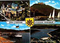 Der Edersee im Ferienland Waldeck , Ansichtskarte, gelaufen