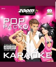 Zoom Karaoke CDG Pop Pack 12 - 2 DISC SET CDG 2011/2012 New & Sealed