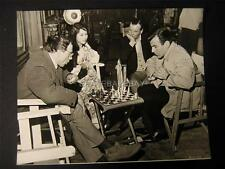 1965 Candid Director Maximilian Schell Return From The Ashes VINTAGE PHOTO 34B