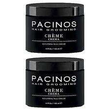 2 X Pacinos Hair Grooming Sculpting Wax Creme 118ml  / SAME DAY POST