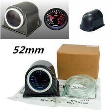 "2"" 52mm Turbo Boost Gauge Psi+Carbon Fiber Pod Pointer Display Meter Universal"