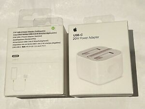 Genuine 20W USB C Power Adapter Plug Charger For iPhone 12 - UK PlUG - NEW