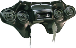 Hoppe Quadzilla Fairing with Stereo & Speakers 94-19 Harley Road King FLHR