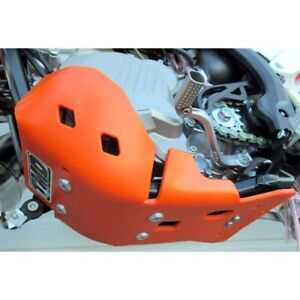 TM Designworks KTMC-253-OR orange skid plate for 2017-2018 KTM 250/300 SX XC