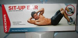 NEW~WEIDER~Ergonomic Sit-up Bar~With Protective Foam Padding~Fits Under Door