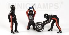 Pit Stop Crew Set Minardi Change Frontal Tyre 1:18 Model MINICHAMPS
