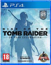 PS4 Rise of the Tomb Raider 20 Year Celebration UNCUT NEU&OVP Playstation 4