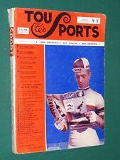"""Tous les sports (album de la revue """" Sport Mondial """") N° 9"""