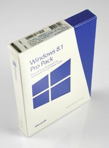 (SEALED, BOX) Microsoft Windows 8.1 PRO Pack 32 / 64-bit English