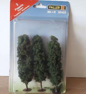 FALLER  181425  H0 -   Three 13cm Poplar Trees