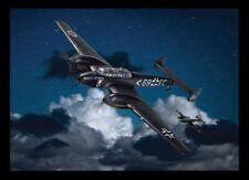 CORGI WWII Messerschmitt Bf 110E Stab II./NJG 1 Holland, Spring 1942 AA38508 MIP