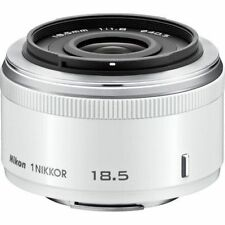 Nikon 1 NIKKOR 18.5mm f/1.8 Lens for Nikon 1 Series - White