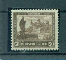 Postfrische Briefmarken aus dem Deutschen Reich (bis 1945) mit Bauwerks-Motiv