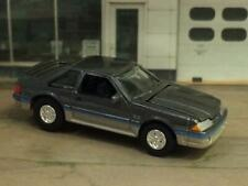 1988 88 Ford Mustang 5.0 V-8 GT FOX BODY 1/64 Scale Limited Edition T14