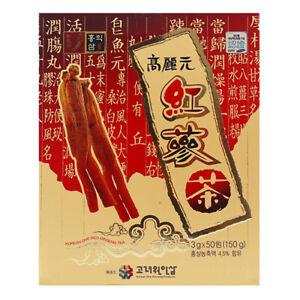 Korean Red Ginseng Granule Tea - 50 Tea bags