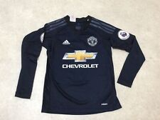 Boys Age 9/10 Man United Football Top Adidas