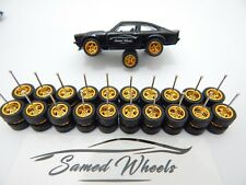 Premium rubber wheels for hw 1:64 scale cars and other brands