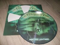 METALLICA RARE PICTURE RIDE THE LIGHTNING EXCELLENT ETAT