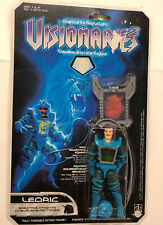 Hasbro Visionaries Knights of the Magic Knight Leoric Action Figure Hologram