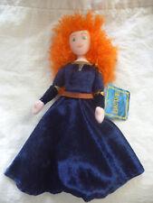 "Disney Pixar BRAVE movie- MERIDA Plush Soft Toy Doll 25cm 10"" Tall BNWT LICENSED"