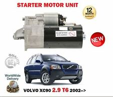 FOR VOLVO XC90 2.9 T6 272BHP 2002-> NEW STARTER MOTOR UNIT