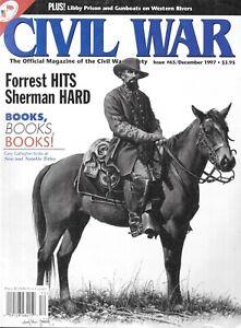 Civil War Society #65 Forrest Hits Sherman Hard Johnsonville Raid Libby Prison