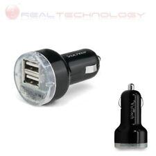 CARICATORE DA AUTO CON DOPPIA USCITA USB (MAX 2.1 A) 12-24V DC 5V VULTECH CA-02