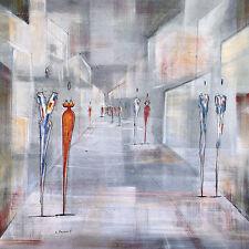 Joram Neumark Streetlife i Grey póster son impresiones artísticas imagen 60x60cm