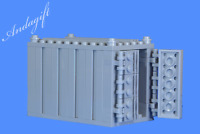 LEGO grey shipping container freight cargo  train road go with 60052 66493