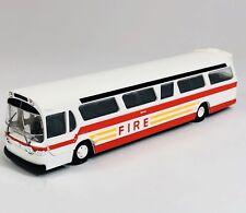 BUSCH 1/87 HO 44550 GM Fishbowl FDNY Fire Service Bus New York Fire