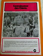 ALBUM PHOTOS CHROMOS CHOCOLAT POULAIN 1982 CONNAISSANCE DES CHIENS SERIE 28