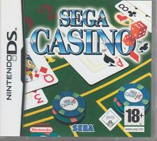 Nintendo DS 'Sega Casino' 11 games inc poker/ blackjack/craps/baccarat/roulette