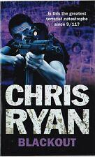 BLACKOUT BY CHRIS RYAN PAPERBACK BOOK
