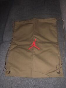 Nike Jordan Travis Scott British Khaki Drawstring Bag Backpack