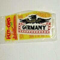 Germany Iron On Patch Vintage
