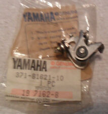 GENUINE YAMAHA  XS500  TX500  TW200 CONTACT POINTS,LEFT  371-81621-10   NOS