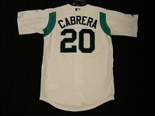 Authentic Miguel Cabrera Florida Marlins 2003 Rookie Warm Up Jersey RARE! Medium