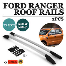 Top Roof Bar Rack Fit For Ford Ranger Roof Rails 2011-2017 PX1 2.2 TDDI 4x4 MKII