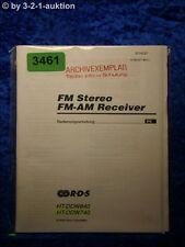Sony Bedienungsanleitung HT DDW840 /DDW740 FM/AM Receiver (#3461)