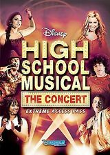 High School Musical: The Concert - Extreme Access Pass (DVD, 2007) BRAND NEW