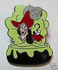 CAPTAIN HOOK VILLAIN CAULDRON Villains Peter Pan Disney Hidden Mickey Pin 51314