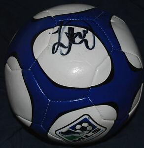 LANDON DONOVAN Signed MLS SOCCER Ball  *LA Galaxy