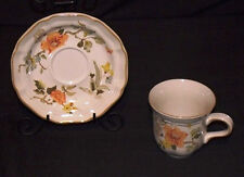 mikasa f2005 heritage olde tapestry cup and saucer excellent condition japan