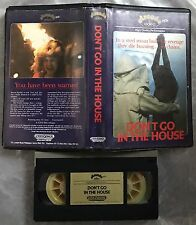 Don't Go In The House Pre Cert Arcade Videospace VHS Video Nasty DPP