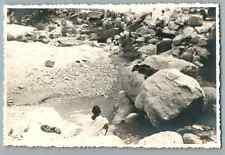 Algérie, Khanga Sidi Nadji, Scènes et Types   Vintage silver print.  Tirage ar